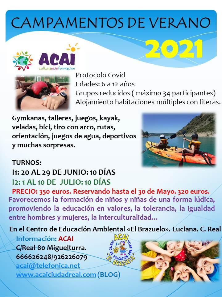CAMPAMENTOS DE VERANO ADAPTADOS AL COVID-19